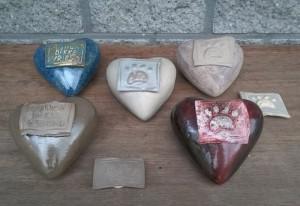 KVB urn hartvorm