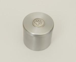 Metalen urn