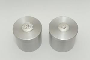 Urn in metaal