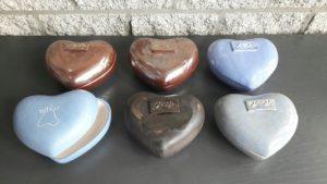 KVB Duncan urn in hartvorm
