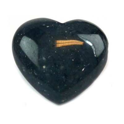 Gedenksteen hartvormig dumorturietblauw
