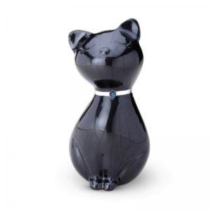 Urn kat swarovski zwart